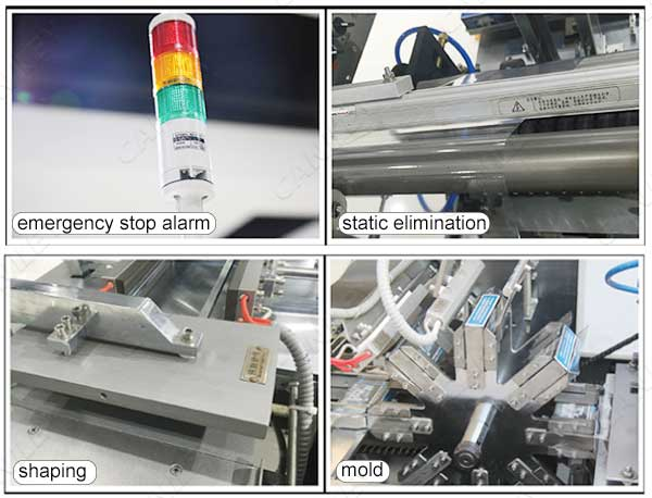 cd wrapping machine factory