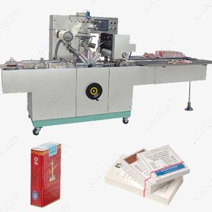 cigarette box wrapping machine