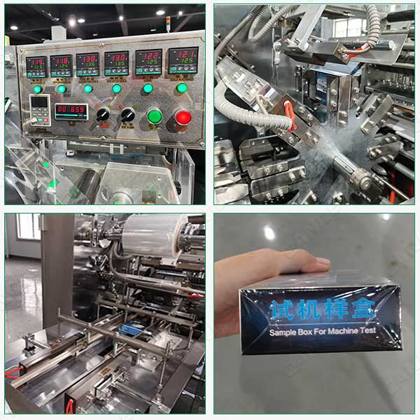 Perfume box wrapping machine manufacturer