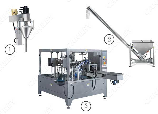 protein powder pouch filling machine