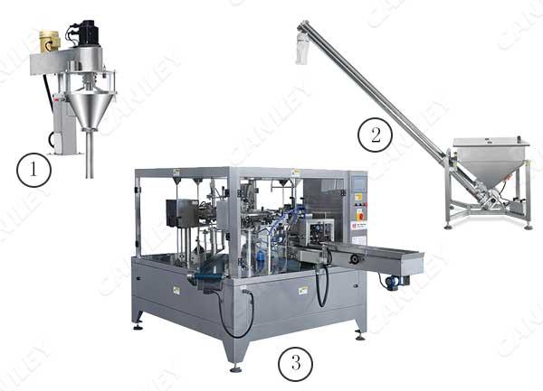 protein powder pouch filling machine