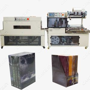 book shrink wrap machine