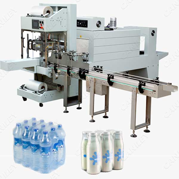 shrink wrap machine for bottles