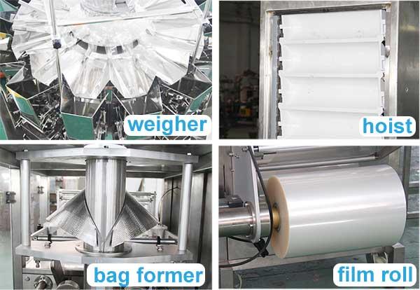 nitrogen packing machine for snacks