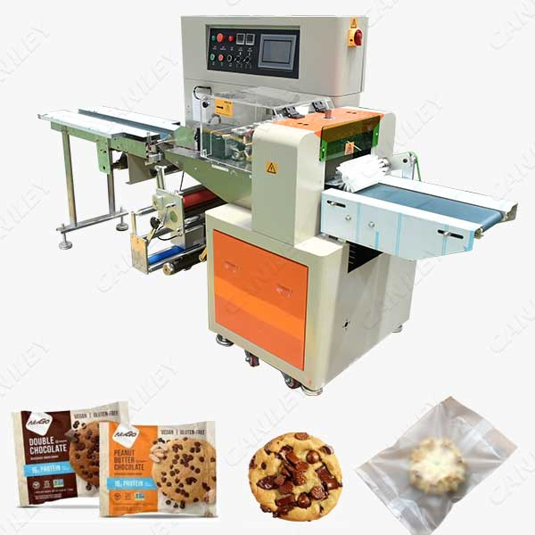 automatic cookies packaging machine
