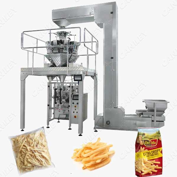 french fries packing machine