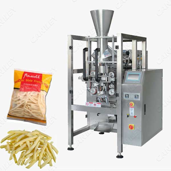 frozen french fries packing machine