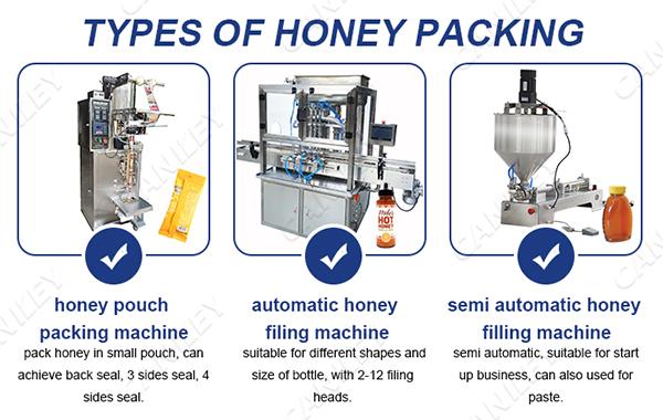Honey Packing Machines