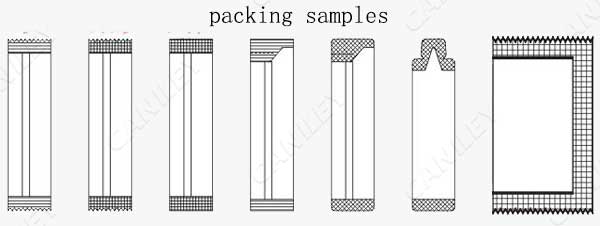 honey stick packing machine samples