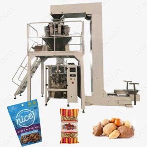 Mixed nuts packing machine