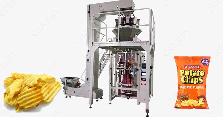 Potato Chips Packing Machine Price