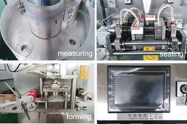 round tea bag packing machine factory