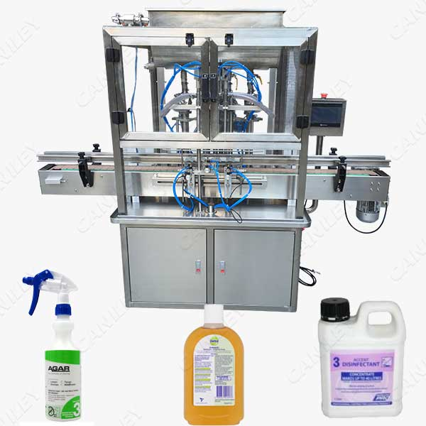 Disinfectant Filling Machine