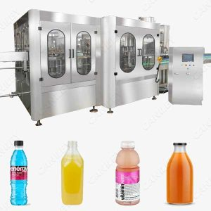 Automatic beverage filling machine