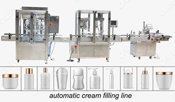 Body butter filling machine