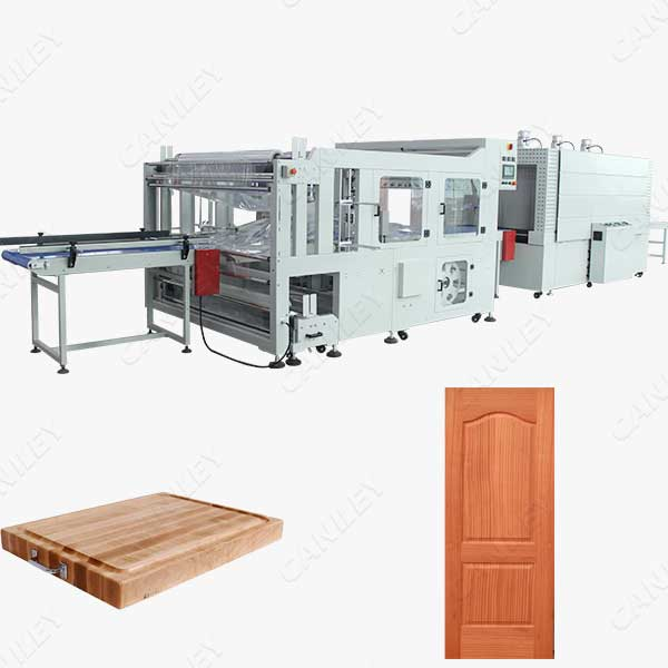 Autoamtic Door Shrink Wrap Machine