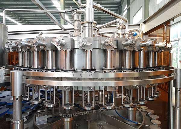 beverage bottle filling machine