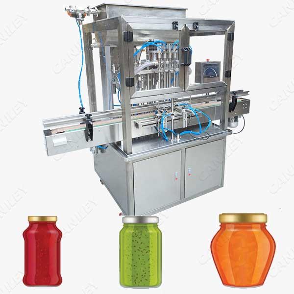 fruit jam filling machine