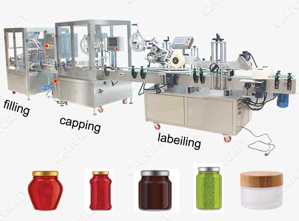 jar filling and capping machine
