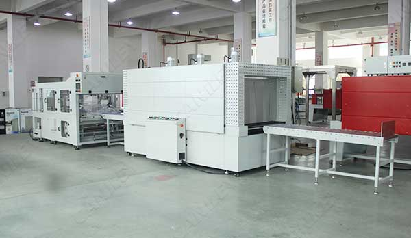 Window shrink wrap machine factory