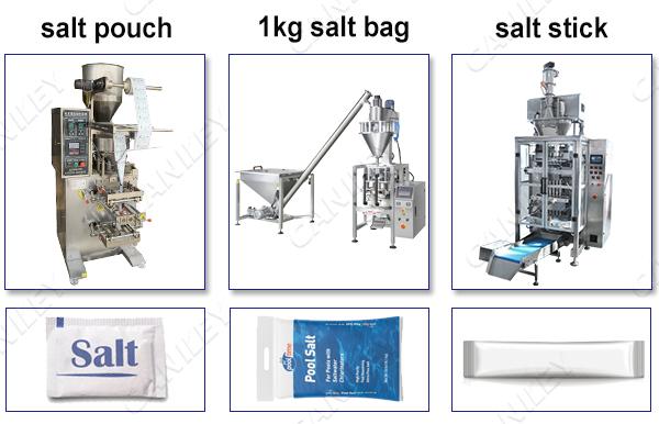 Types of Salt Packing Machine