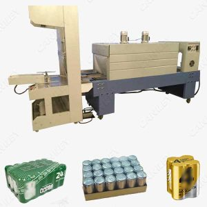 Cans shrink wrap machine