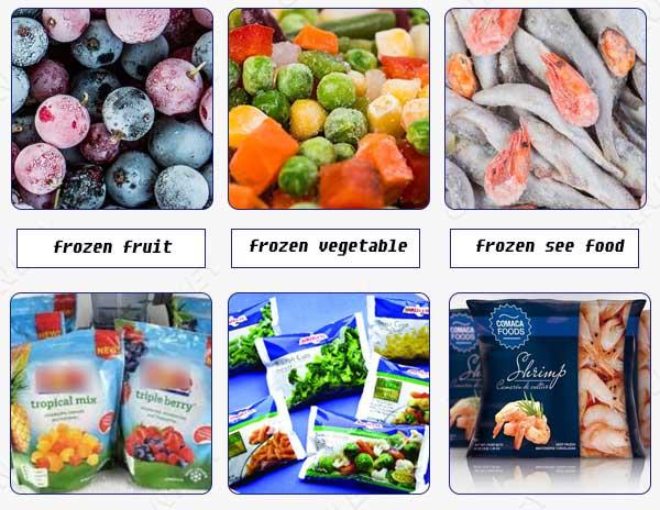 Frozen food package