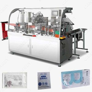 Wet wipes packing machine