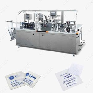 alcohol wipe machine