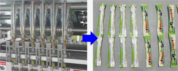 Ice lolly packing machine factory