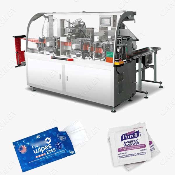 sanitizing wipes machine
