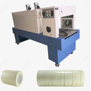 Tape shrink wrap machine