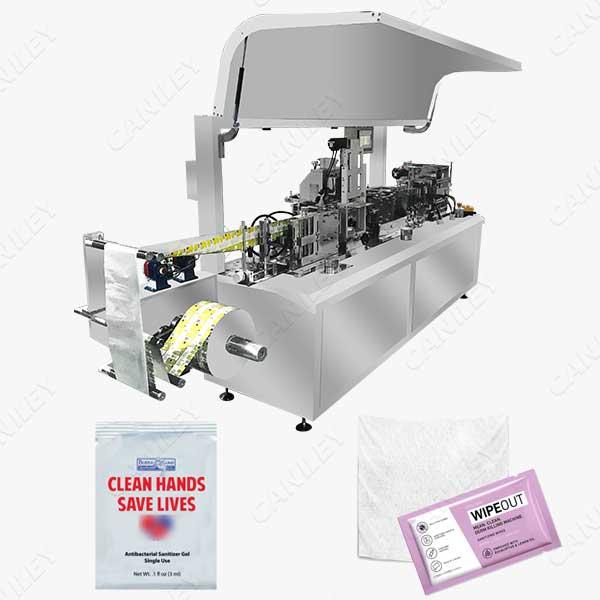 wet tissue packing machine