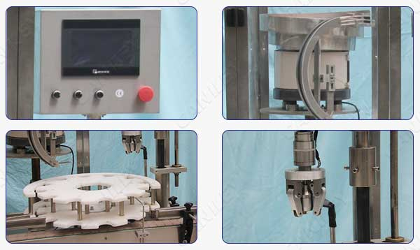 bottle capping machine factory