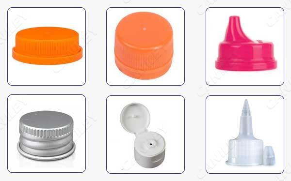 types of bottle cap