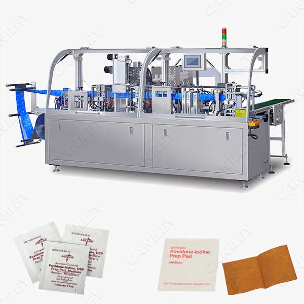 iodine pad machine