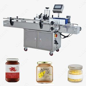 Jars labeling machine