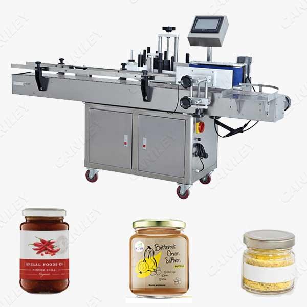 Jars labeling machine