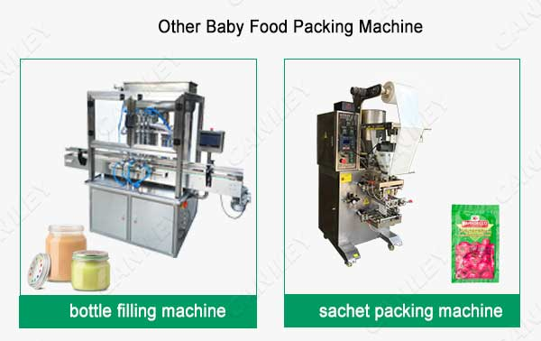 Baby food pouch filling machine