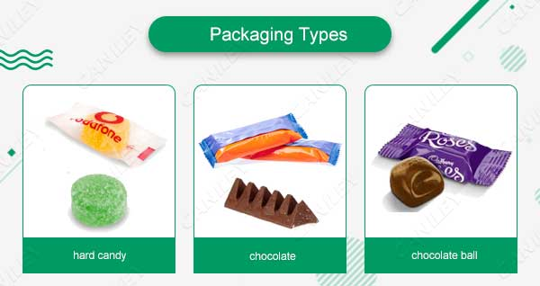 candy packing types