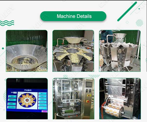 Food packing machine details