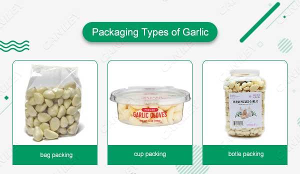 Packing Types of Garlic