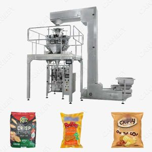 crisp packaging machine