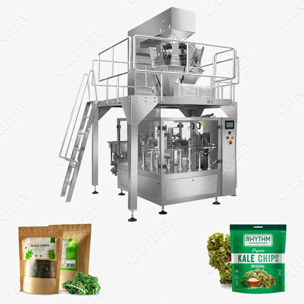 kale chips packing machine