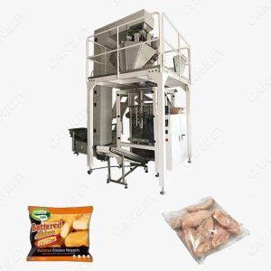 Meat packing machine