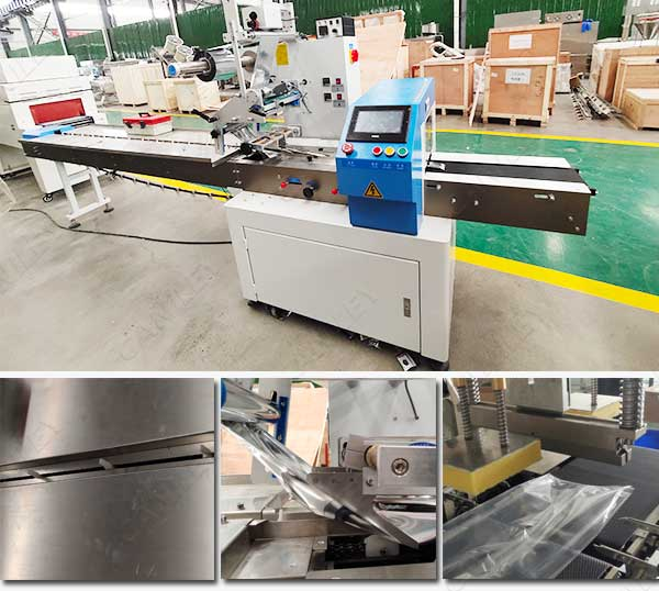 Pillow packing machine factory
