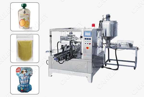 premade pouch tomato sauce packing machine