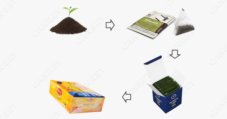 Tea Packaging Process