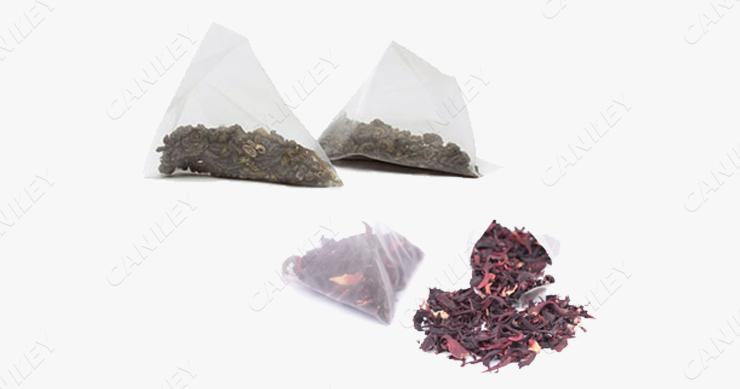Triangle tea bag