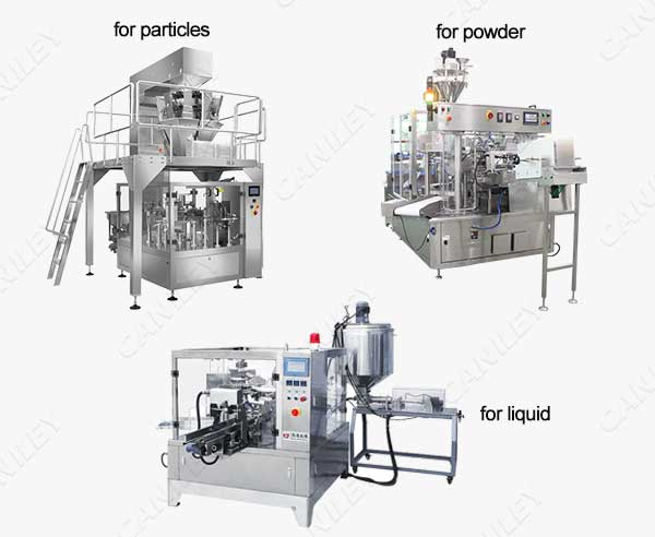 rotary pouch filling machine